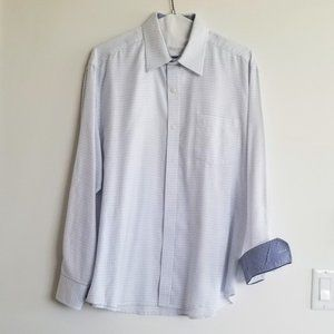 Johnston and Murphy Men's Casual Button Down